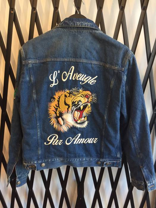 1c19b82d092f Gucci Gucci Denim Jacket Size m - Denim Jackets for Sale - Grailed