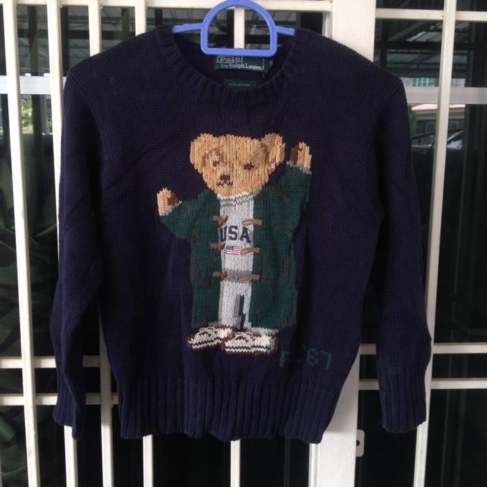 e1815f65de25 Polo Ralph Lauren Vintage Kid s Ralph Lauren Polo Bear USA RL 67 ...