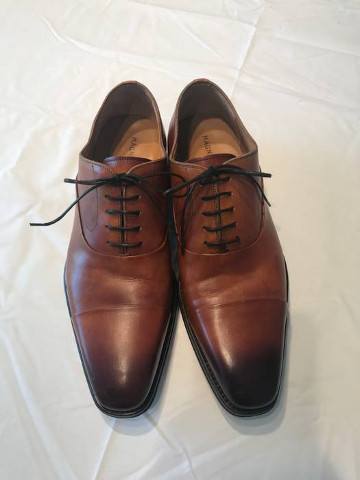 5458a638033 Magnanni Magnanni Saffron Cap Toe Oxford Size 8.5 - Formal Shoes for ...
