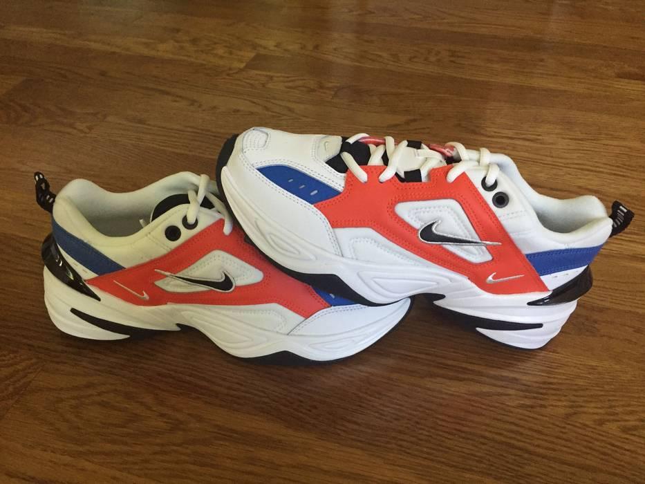 36eabf555917a0 Nike Nike M2K Tekno (Women s Size 7.5) Dad Shoe Team Orange White ...