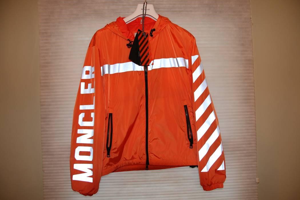 e1b7d31c7 Off-White Moncler X Off White Reflective Jacket Size l - Light ...