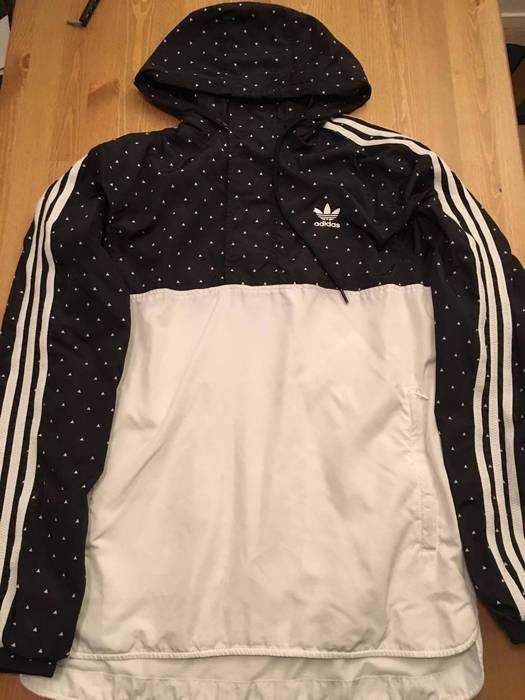 3fb30829c34c Adidas Adidas X Pharrell Williams Hu Windbreaker Black Size US S   EU 44-46