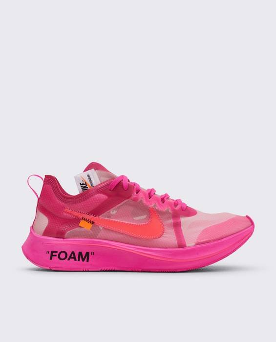 1f6a9c93c09c Off-White Off White Nike Zoom Fly Pink Size 11 - Low-Top Sneakers ...