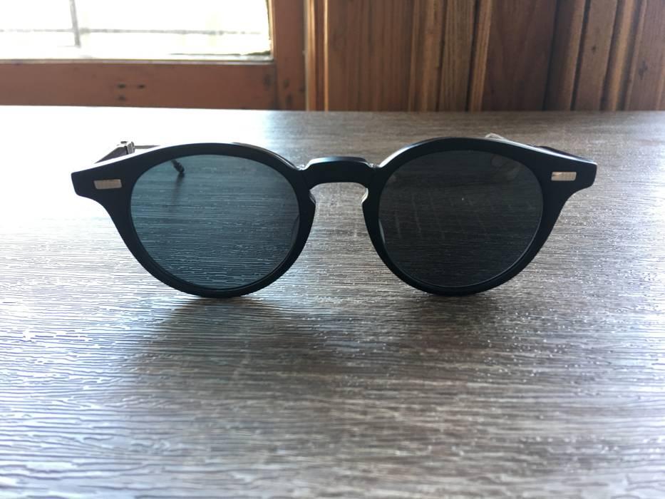14b4b53109a7 Thom Browne Thom Browne TB-808-A-BLK-SLV-48 Sunglasses Size one size ...