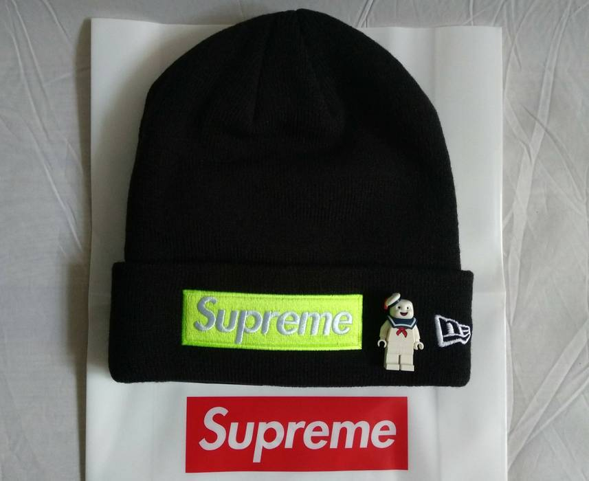 a6d9c84388f Supreme Box Logo Black Green Beanie Size one size - Hats for Sale ...
