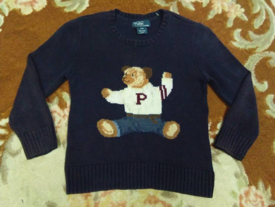 d0a81b301d7c Polo Ralph Lauren POLO BEAR ralph lauren knit sweatshirt size 4T for ...