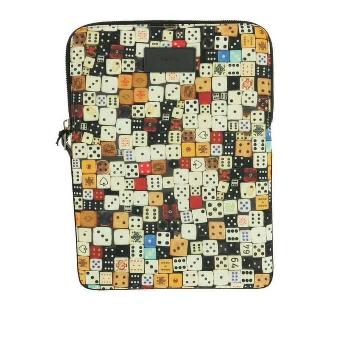 defab6e9e0 Paul Smith NEW PAUL SMITH 11x8  Dice  Print IPAD Tablet Sleeve Case ...