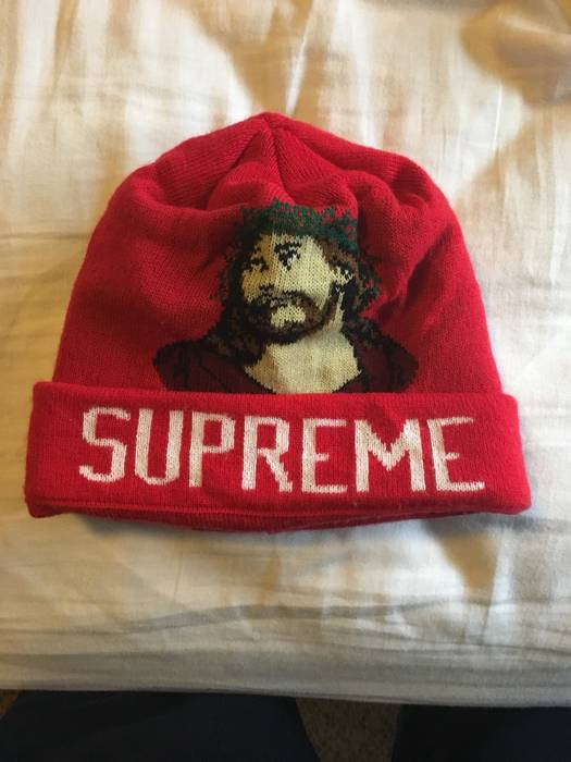 Supreme Inri Beanie Size one size - Hats for Sale - Grailed 81d7741c75d