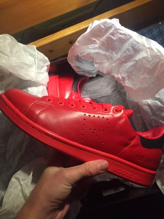 c03939ed8270aa Adidas Adidas X Raf Simons Stan Smith Red And Black (not Bape ...