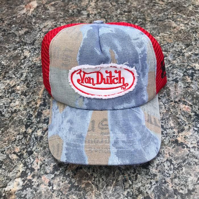8ba38abbbd6 Von Dutch Vintage Y2K Von Dutch Mesh Trucker Cap Size one size ...