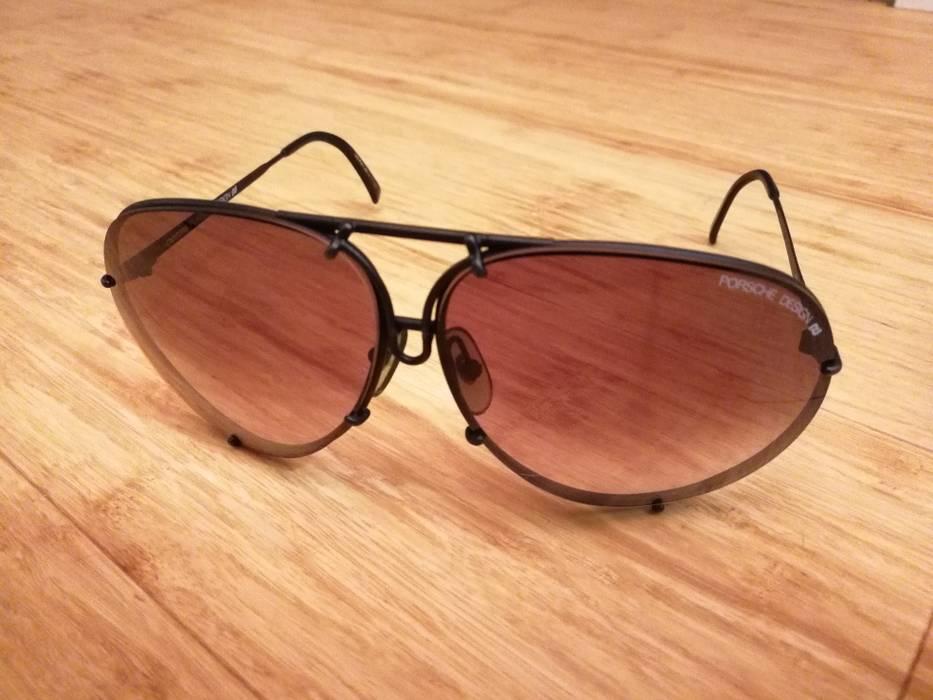 e9fb3ef5a67 Porsche Design 1988 5621 90 vintage matte black aviator sunglasses Size ONE  SIZE - 1