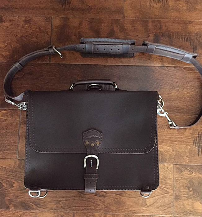 cfd433278c45 Saddleback Leather Large Thin Briefcase Size one size - Bags ...