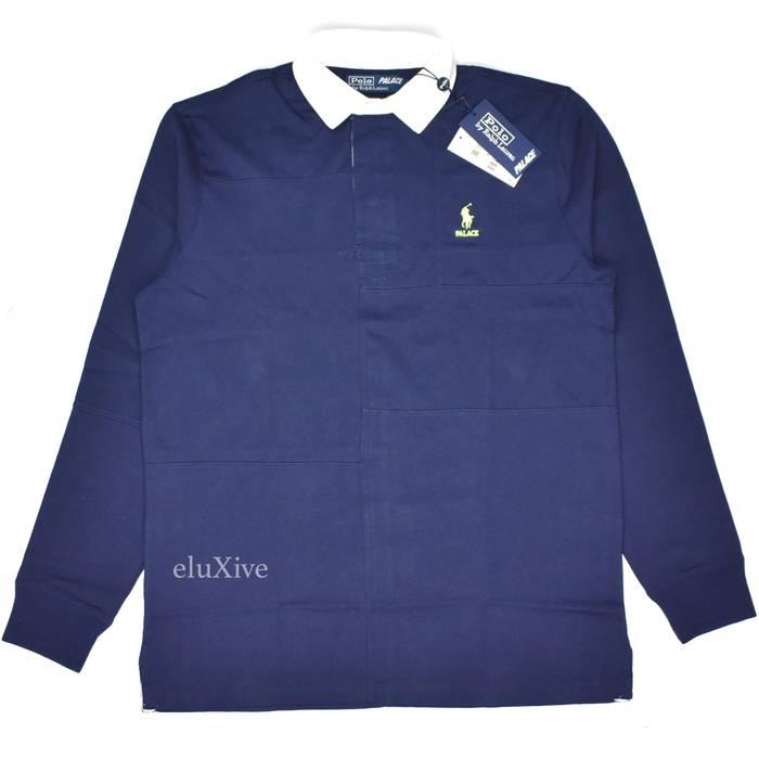 2360d99cae0 ... best polo ralph lauren palace ralph lauren patchwork rugby shirt navy  ds size us m eu
