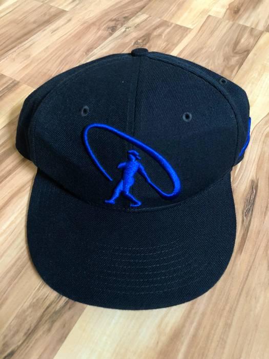 Nike 90s Nike Ken Griffey Jr Logo Baseball 6 Panel Snapback Hat Cap VTG Size  ONE a5e41c59407