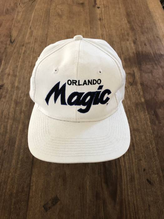 Sports Specialties. 90 s Orlando Magic Sports Specialties Script Snapback. 44afa787b6d7