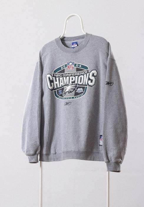 Vintage A0977SW - 2004 Vintage Mens PHILADELPHIA EAGLES Reebok Champions NFC  Conference Big Logo Team Sweatshirt 3fe9b8345