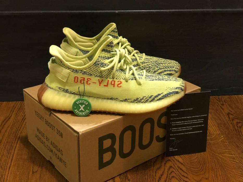e0ed81845d4 Adidas Kanye West adidas Yeezy Boost 350 v2 Semi Frozen Yellow Size 10.5  Size US 10.5