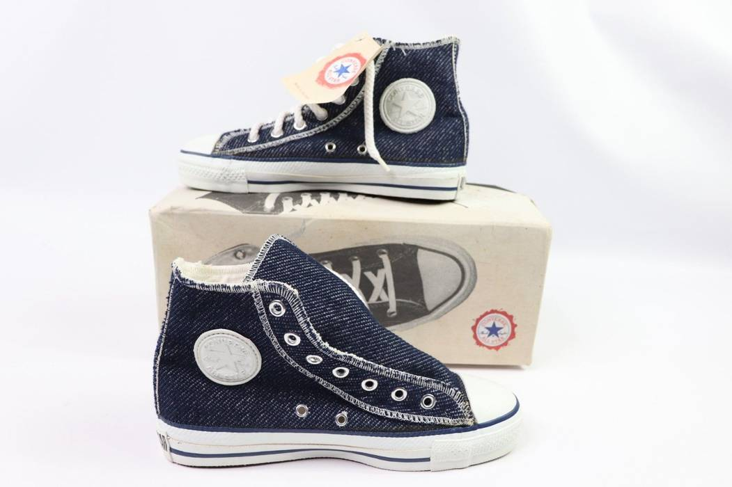 Vintage Vintage 90s New Converse All Star Hi Mens 5 W 7 Chuck Taylor Inside  Out 66e398321