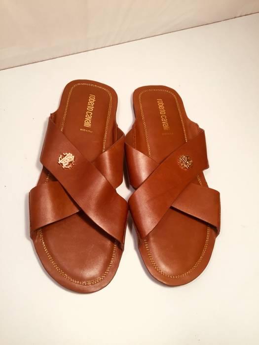 d01e9bd965e062 Roberto Cavalli Roberto Cavalli Men s Sandals Slippers Shoes Size US 11    EU 44