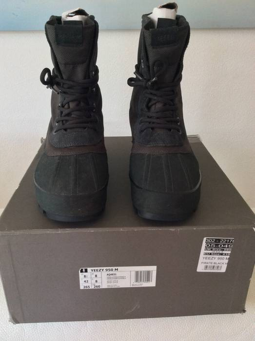 ca09a93d1716 Adidas Yeezy boots 950 pirate black Size 8.5 - Boots for Sale - Grailed
