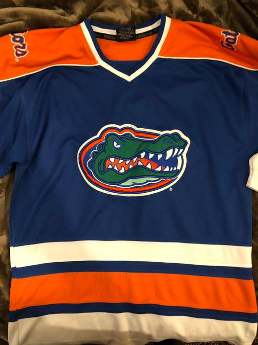 Florida Gators Florida Gators Hockey jersey Size l - Jerseys for ... b5d63b0c841