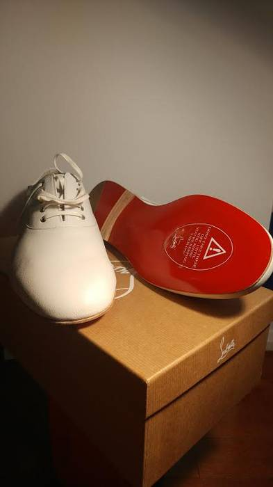 de1a47496b60 Christian Louboutin Alfred Flat Calf Morphe Size 11 - Formal Shoes ...