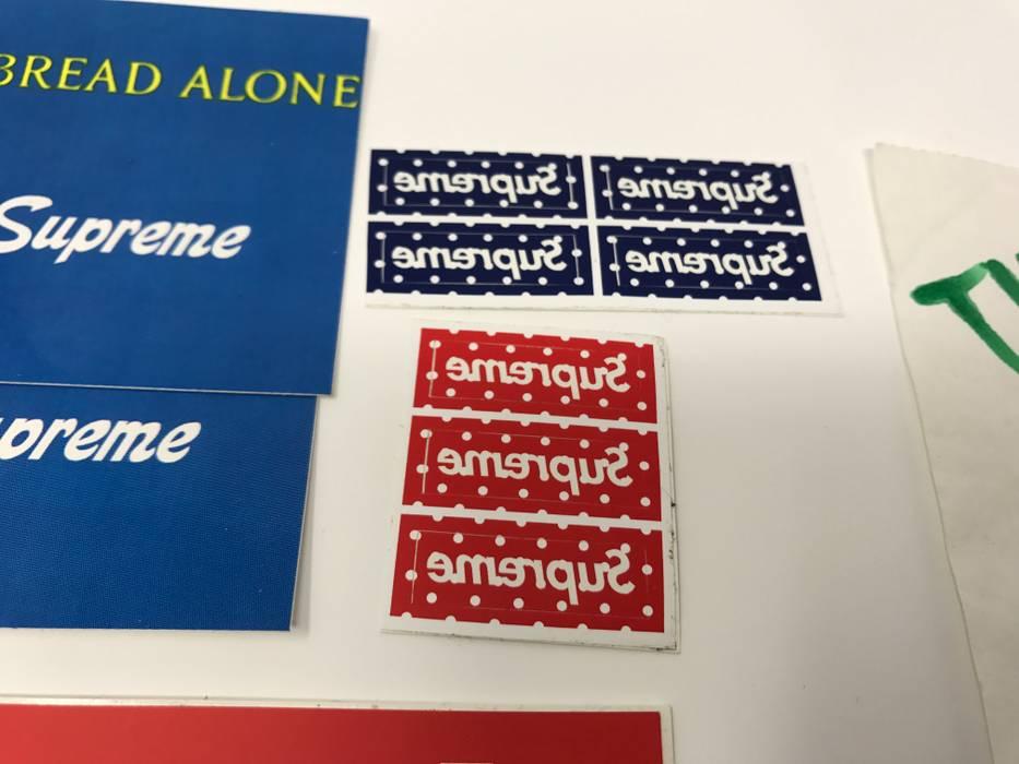 Supreme Cdg Supreme Mini Box Logo Stickers Size One Size Supreme