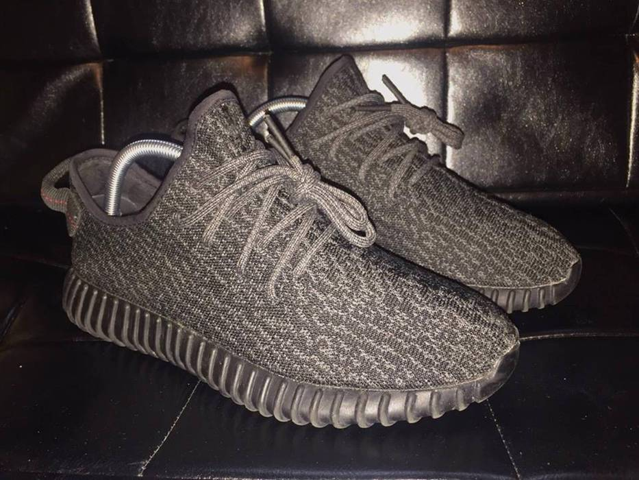 1d7c98d1fbd Adidas Adidas Yeezy Boost 350 Pirate Black (2015) Size 8 - Low-Top ...