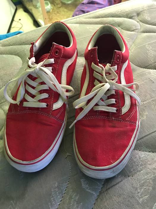 51fc3986a1 Vans Red Old Skool Formula One Canvas Size 11 - Low-Top Sneakers for ...