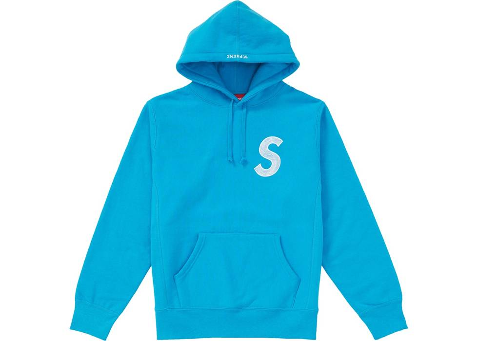 cca8a30d8970 Supreme Supreme S Logo Hooded Sweatshirt (FW18) Bright Royal Size US L   EU