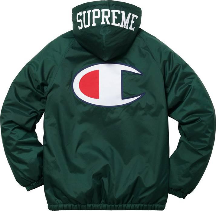 6432f9842f9d Supreme Supreme x Champion Sherpa Lined Hooded Jacket
