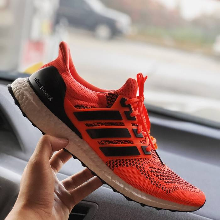 "60ef297c42ad0 Adidas Adidas Ultraboost 1.0 ""Solar Orange"" Size 11 - Hi-Top ..."