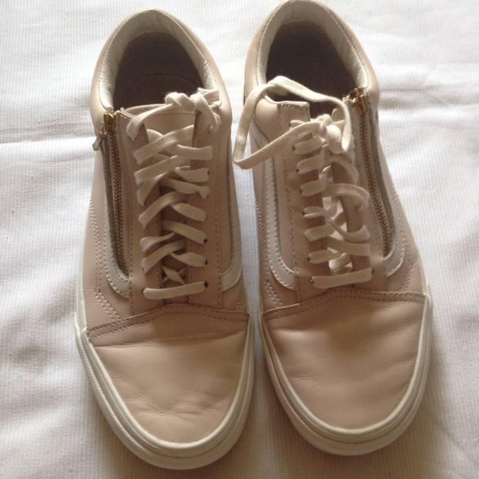 920b29507c Vans Old Skool Zip Leather Whispering Pink Size US 7.5   EU 40-41 -