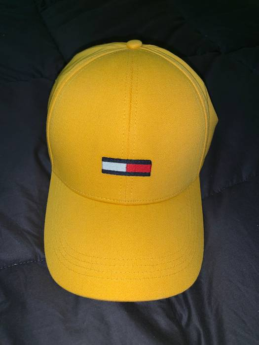 Tommy Hilfiger Yellow Tommy Hat Size one size - Hats for Sale - Grailed 51c5f934985