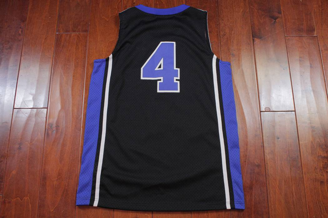cd2a3c375fd6 Nike Nike Elite Duke University JJ Redick Basketball Jersey 4 Size Small  Mens Black Blue Devils