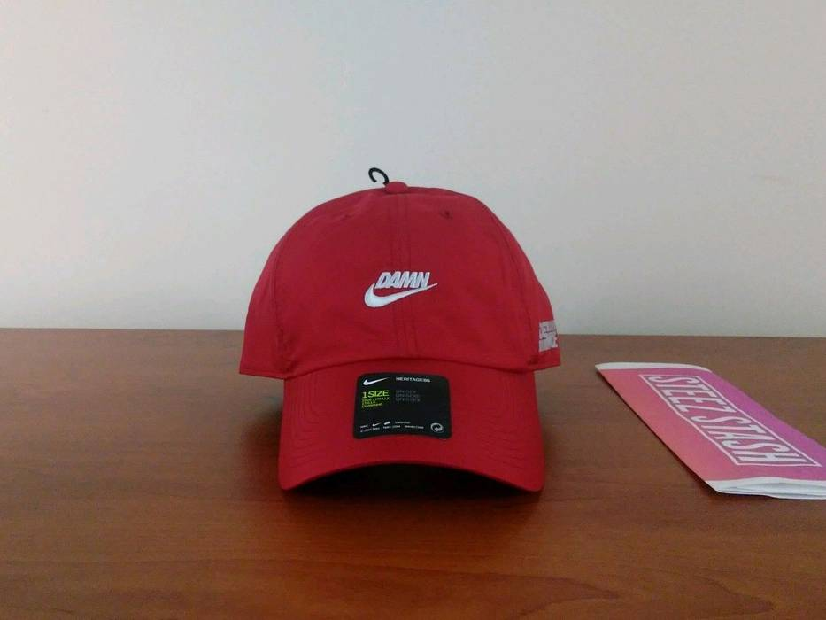 Nike Nike x Kendrick Lamar DAMN Tour Hat Red Size one size - Hats ... 1df24666799