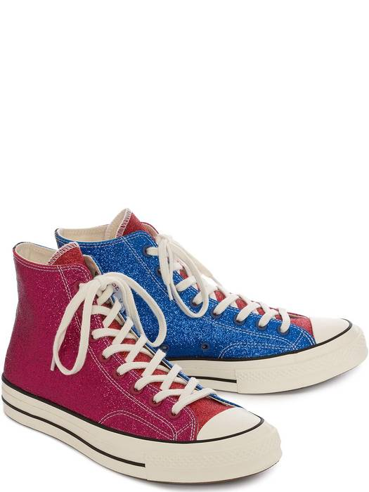 ab1aedc1a368 Converse JW Anderson x Chuck Taylor 70s Pink Blue Glitter Size US 9   EU