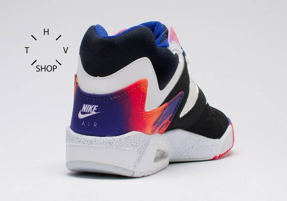 06ebe0bd4ba328 Nike Air Tech Challenge IV Court Andre Agassi tennis hot lava vintage 2016 hi  tops kicks