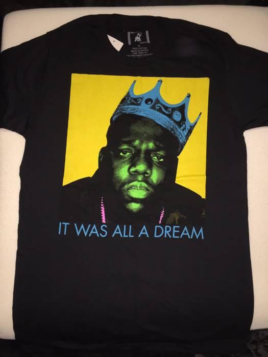 21bfb97fa Brooklyn Mint Biggie Smalls Notorious BIG Hip Hop Men s Shirt Size US M    EU 48