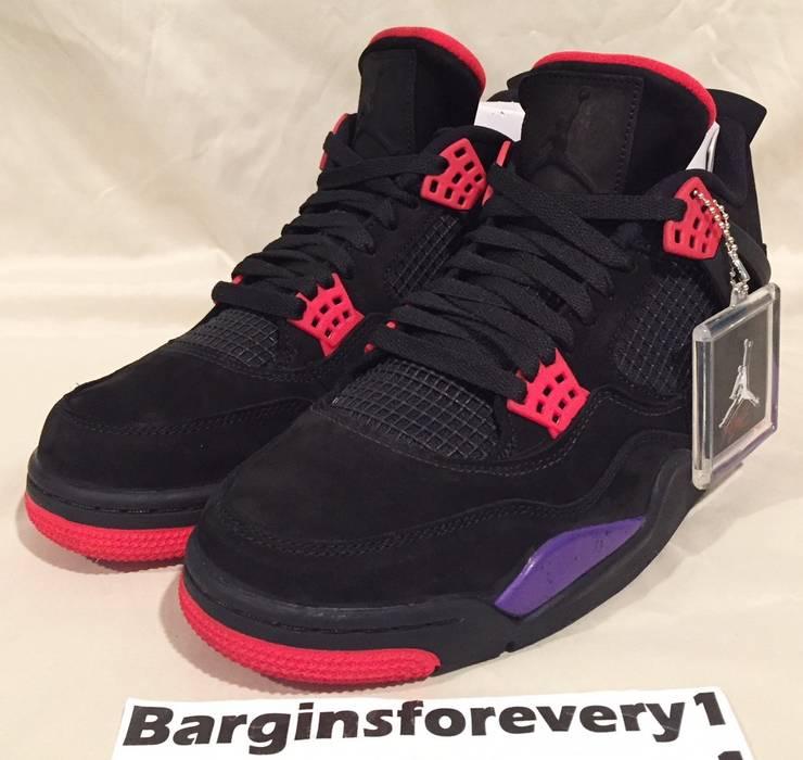 a16c79ecfa9f Jordan Brand Air Jordan 4 Retro NRG (Raptors) - Size 11 - Black ...