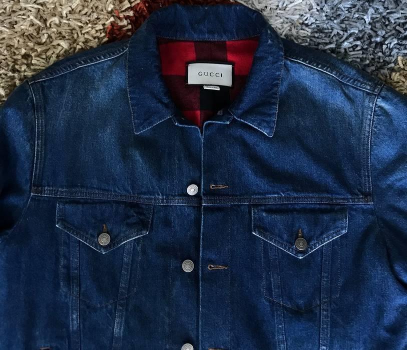 f40e0eccacfc Gucci Denim Jacket Size xl - Denim Jackets for Sale - Grailed