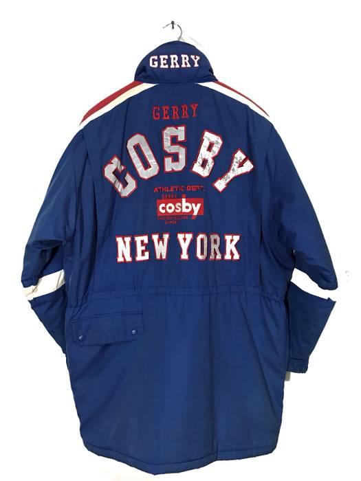 f8e856b4a6d Vintage Vintage Gerry Cosby New York Big Logo Spellout Jacket Armpit  27  x35