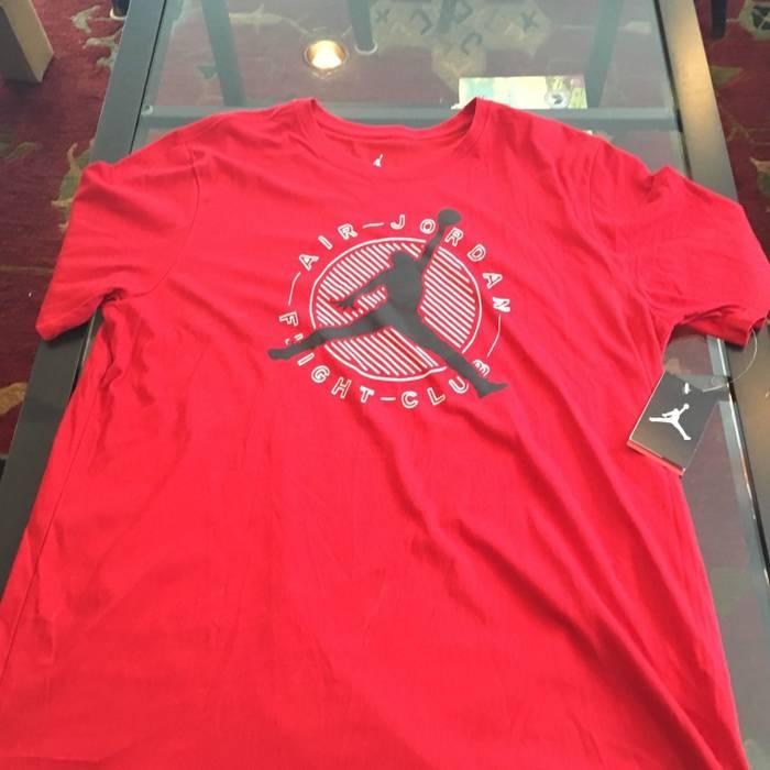 9d934cae6c36 Jordan Brand Air Jordan Flight Club Jumpman T-shirt Red Black 834476 687  XXL BNWT