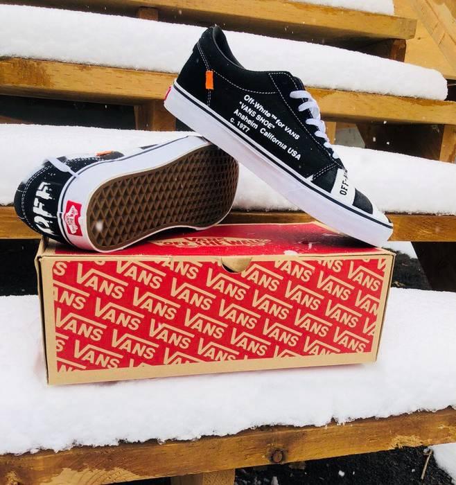 Vintage Off White Vans Custom Shoes Size 10.5 - Low-Top Sneakers for ... d7cb8a9ec
