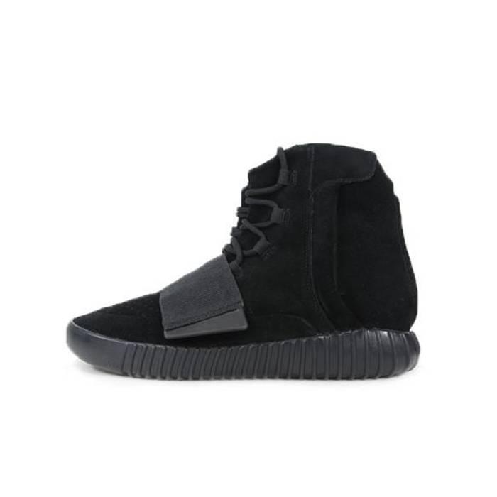 205f82e3755d1 Kanye West ADIDAS YEEZY BOOST 750 TRIPLE BLACK Size 8 - Hi-Top ...