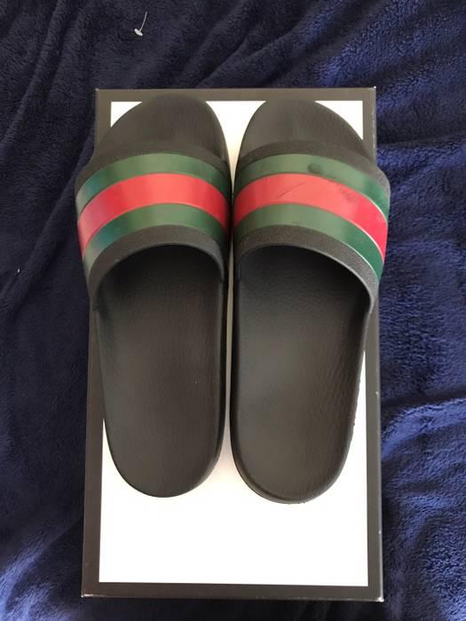 df24c563c49 Gucci Gucci Flip Flops Size 9.5 - Sandals for Sale - Grailed