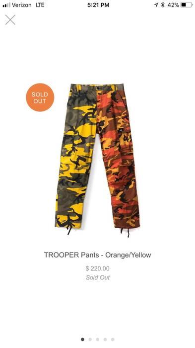 Rokit Rokit Camouflage Pants ( Orange  Yellow ) Size 31 - Casual ... d48f1565e5b