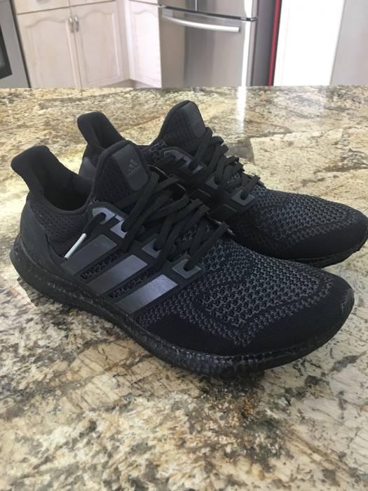 3897b72ede2f Adidas Ultra Boost 1.0 Core Black (Triple black custom) Size US 11.5   EU
