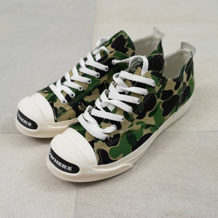 Undercover SS09 NOWHERE Camo Purcells DS Size 10 - Low-Top Sneakers ... 58b6bf0fa