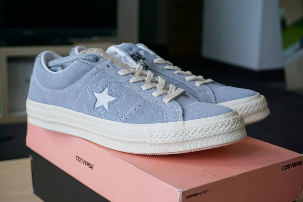 433387ce33ddb8 Converse Baby Blue Converse One Star GOLF WANG Size 8 - Low-Top ...